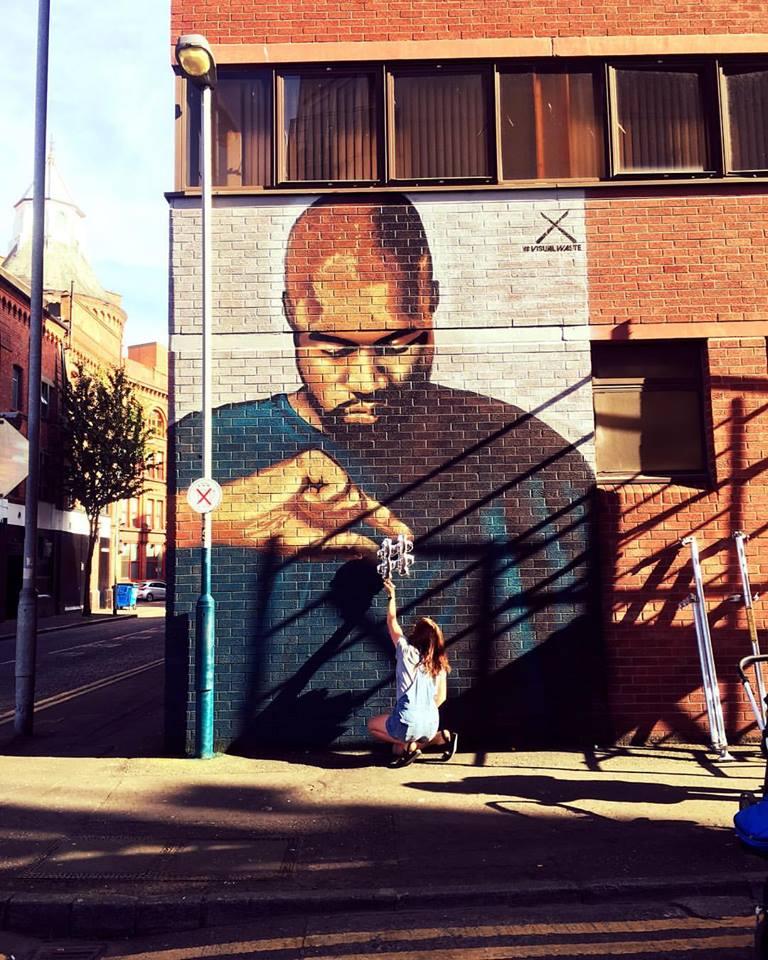 Kanye Street Art belfast